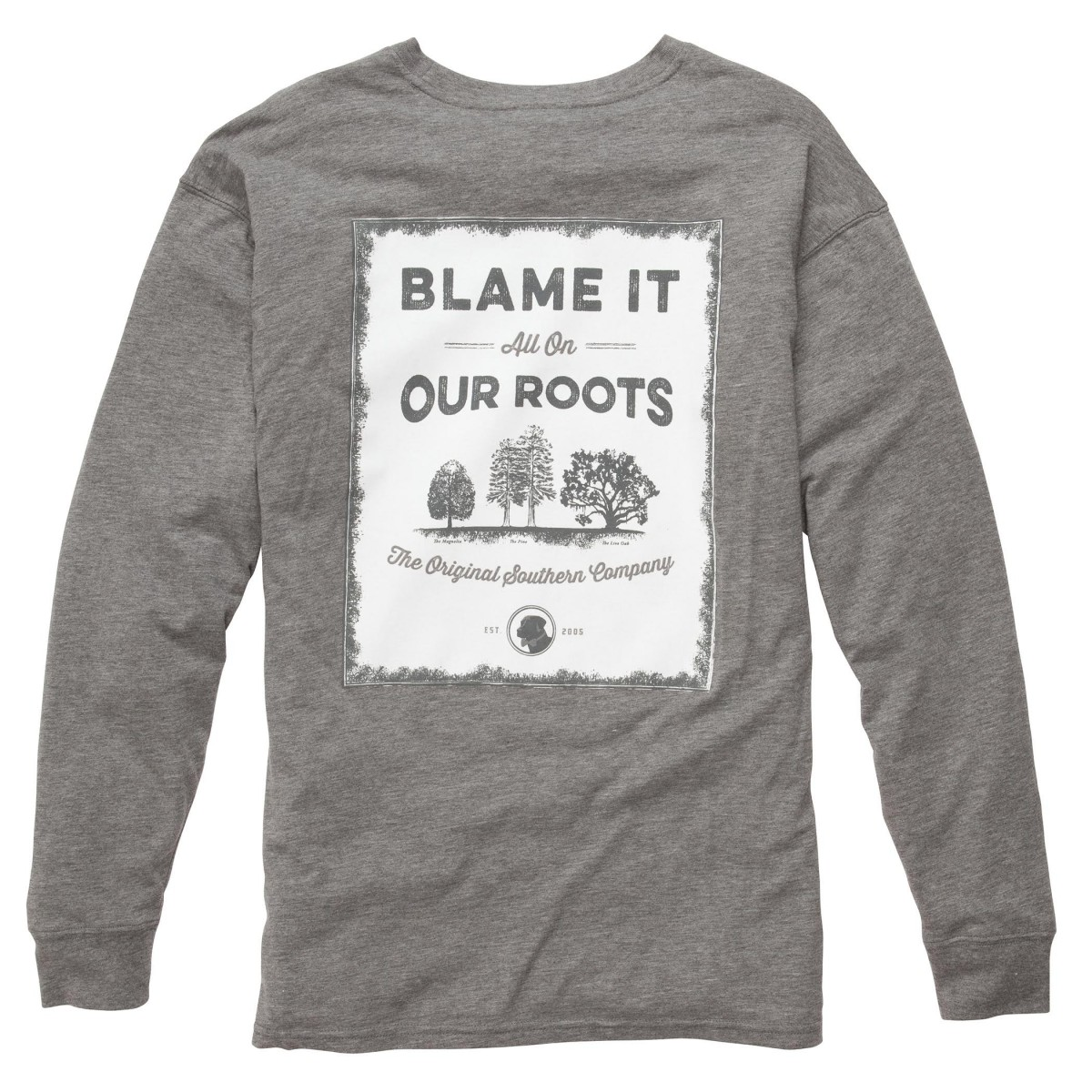 Our Roots: Heather Grey Long Sleeve